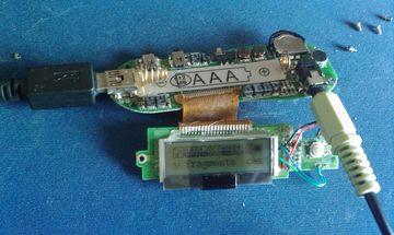 De MP3 speler